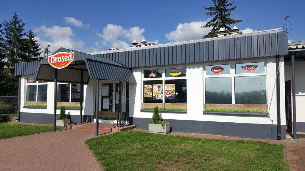 sklep firmowy Sokołowska 154